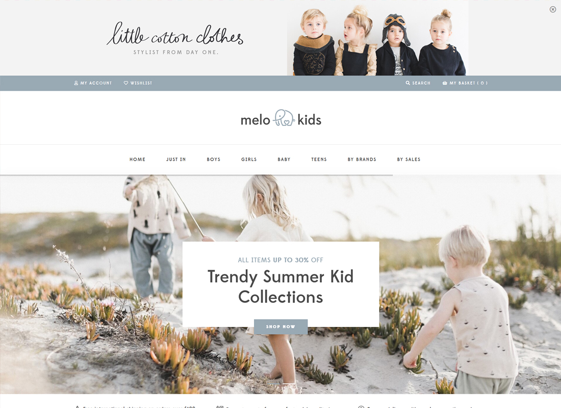 MeloKids | Store & Kids Shop WooCommerce Theme