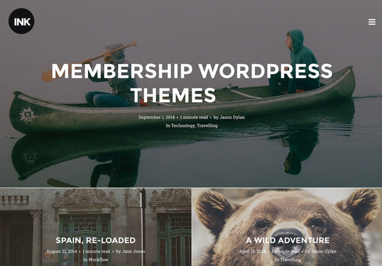 Best Membership WordPress Themes To Create A Paid Membership Website – 2016