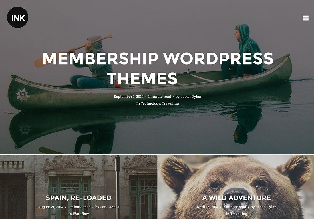 Best Membership WordPress Themes To Create A Paid Membership Website
