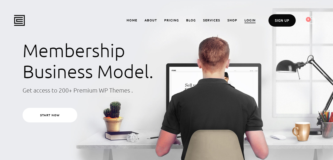 22 Best Free & Premium Membership Website Templates For All Niches