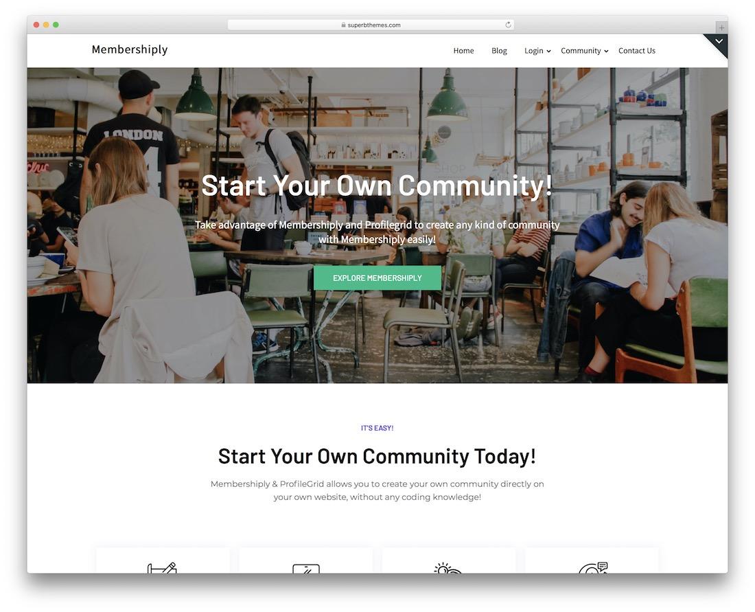 membershiply free bbpress theme