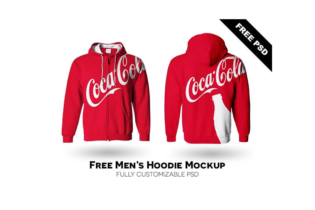 mens hoodie mockup free psd