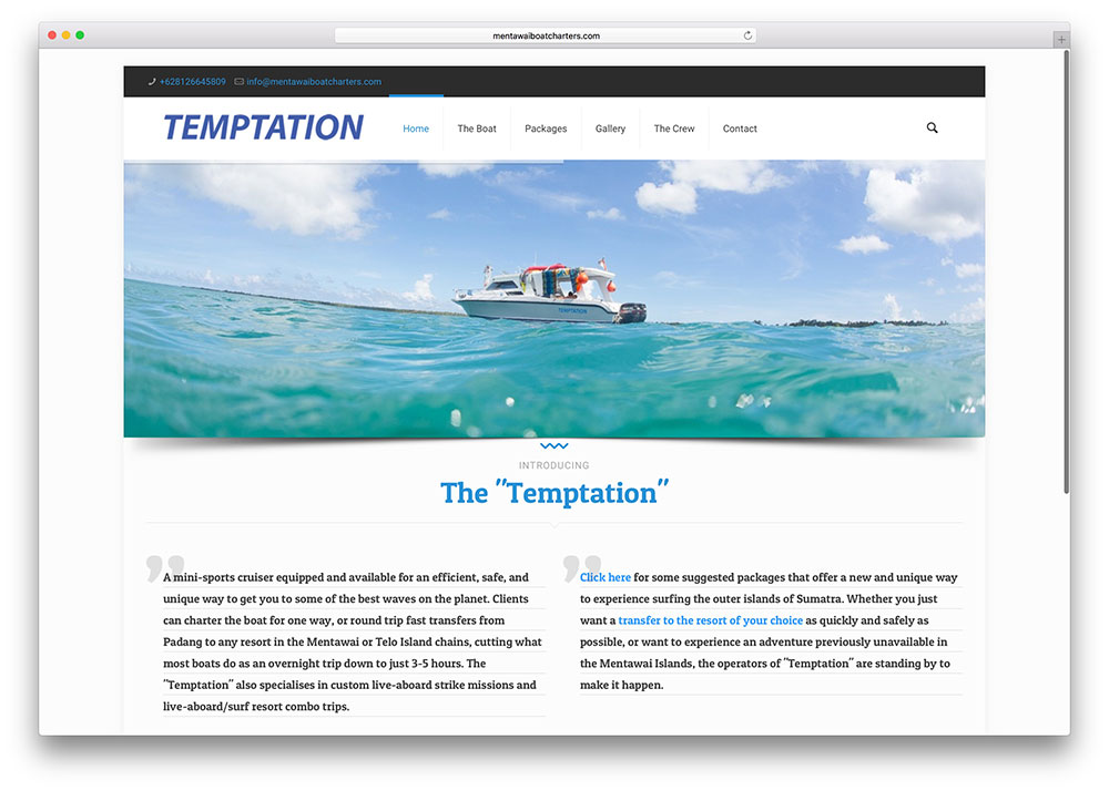 mentawaiboatcharters-travel-website-example-betheme