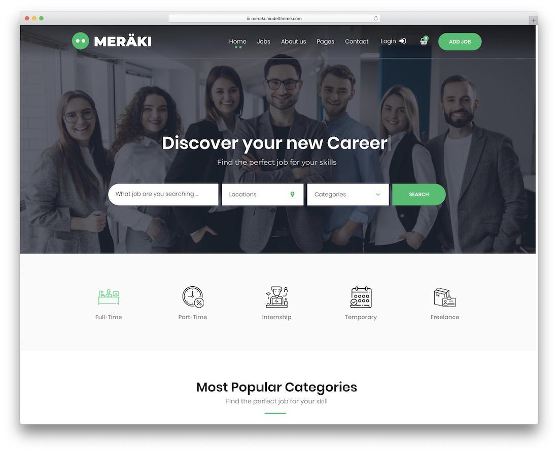 meraki directory wordpress theme