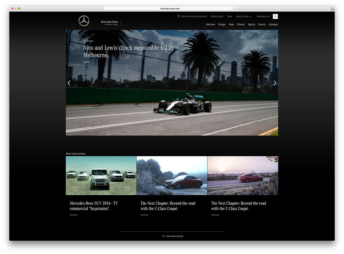 mercedes-benz-automotive-website-using-wordpress