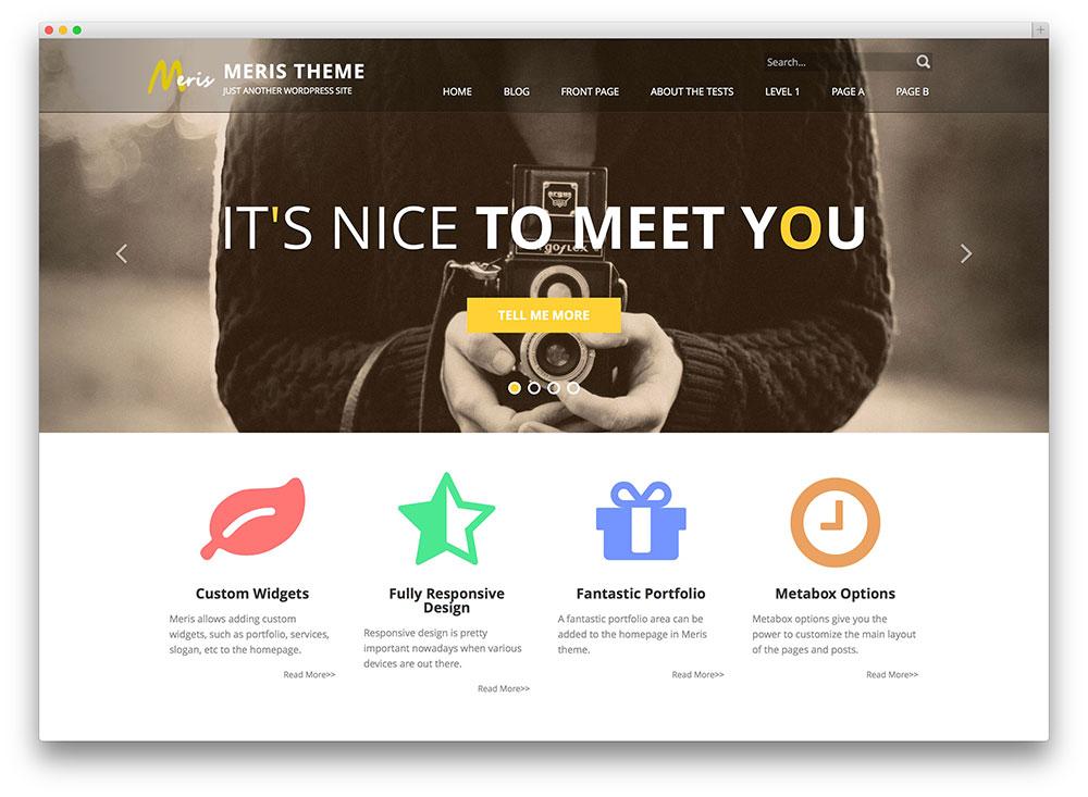 20 free responsive flat design wordpress themes 2017 for House design websites free