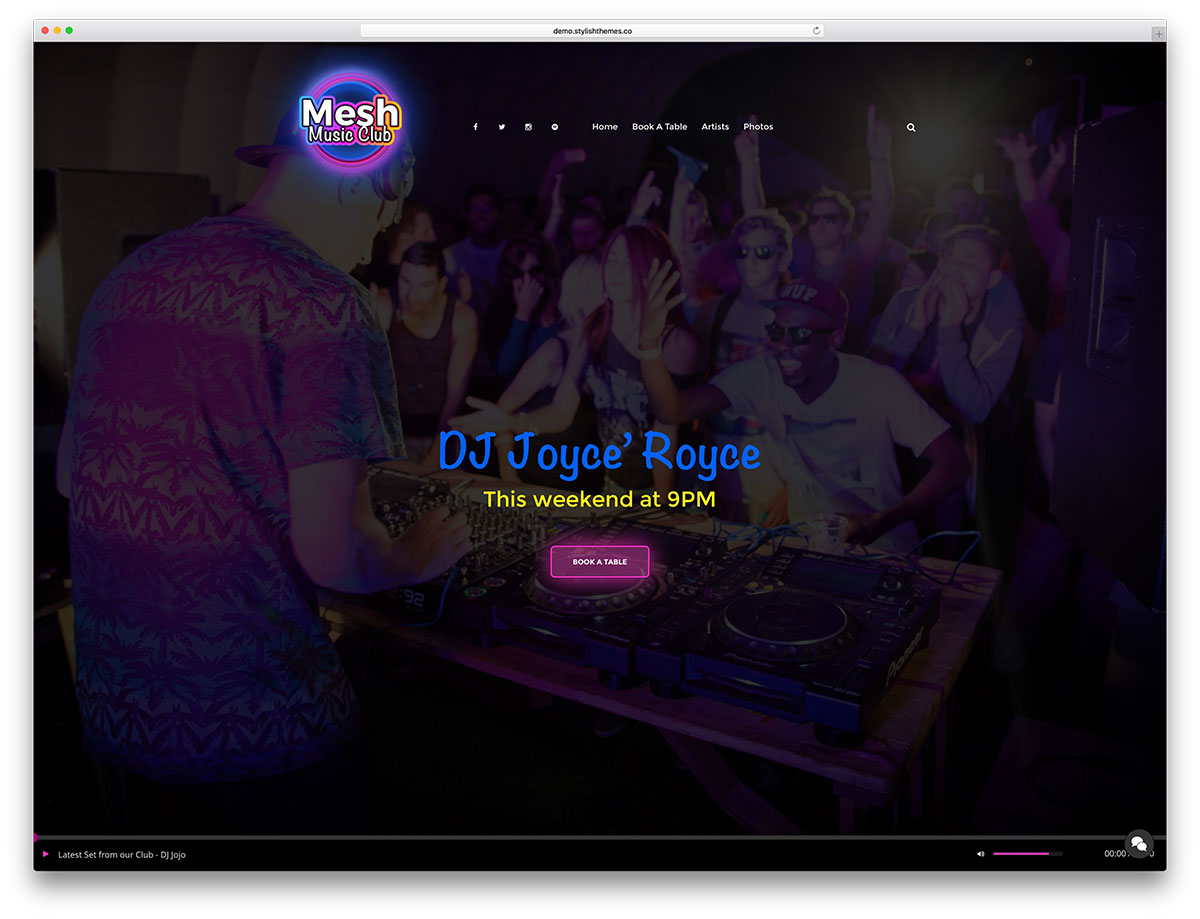 mesh-fullscreen-club-website-template