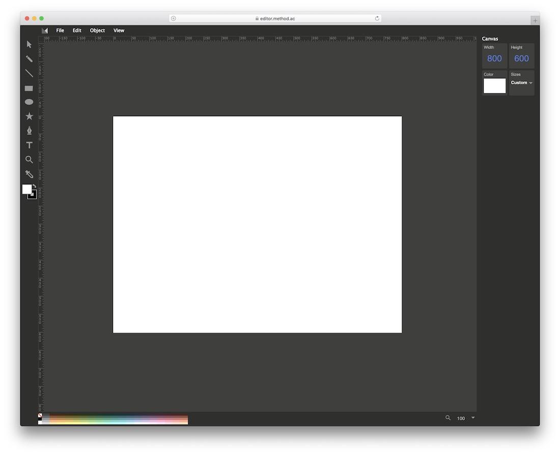 method draw svg editor tool