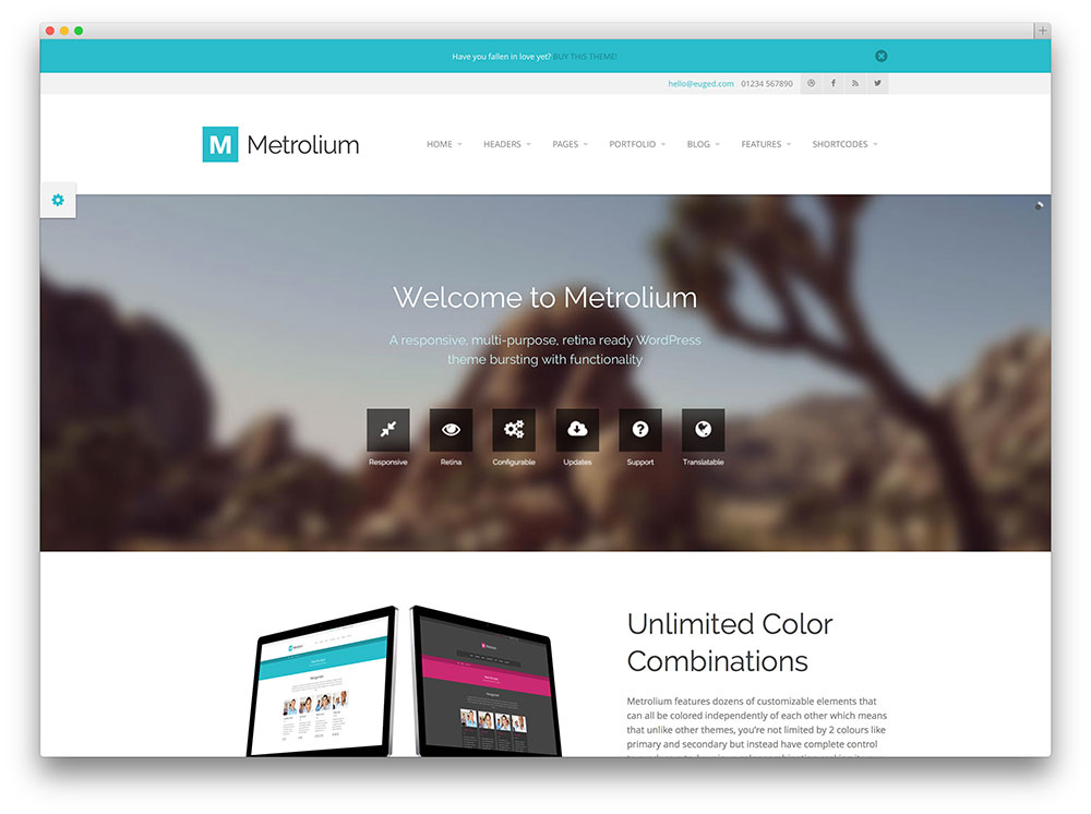 15+ Best Responsive Metro WordPress Themes 2017 - Colorlib