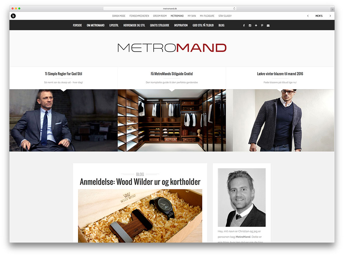 metromand-personal-brand-website-with-brixton