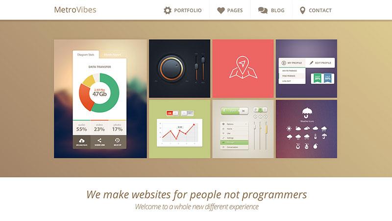 Metro WordPress Theme