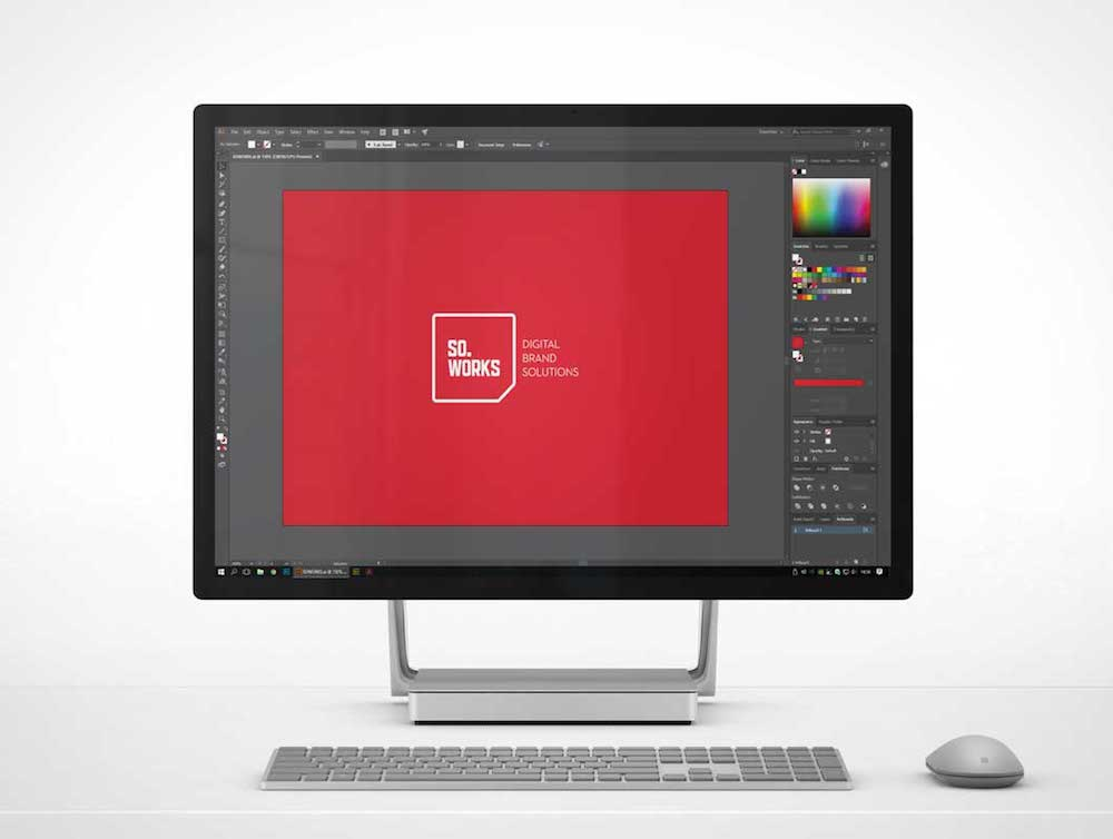 microsoft surface studio mockup