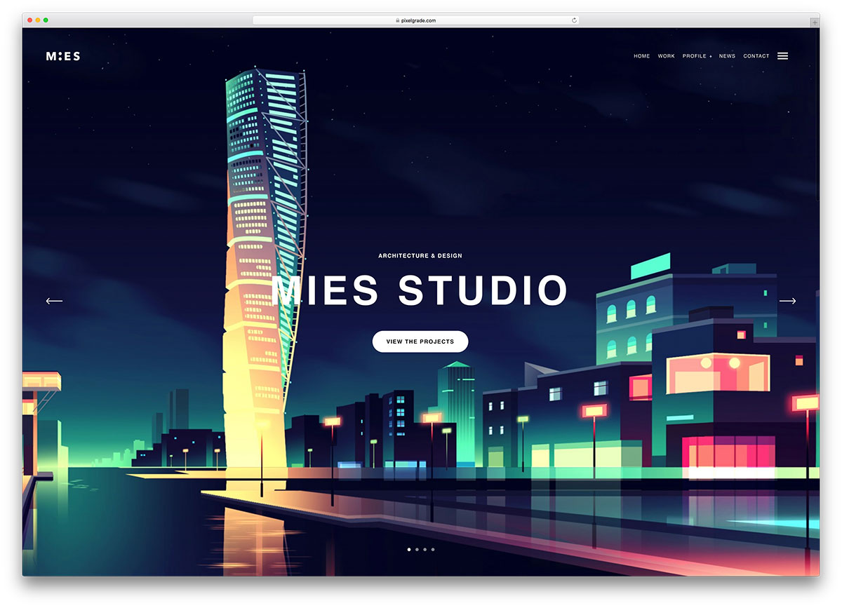 mies-creative-architect-wordpress-website-template