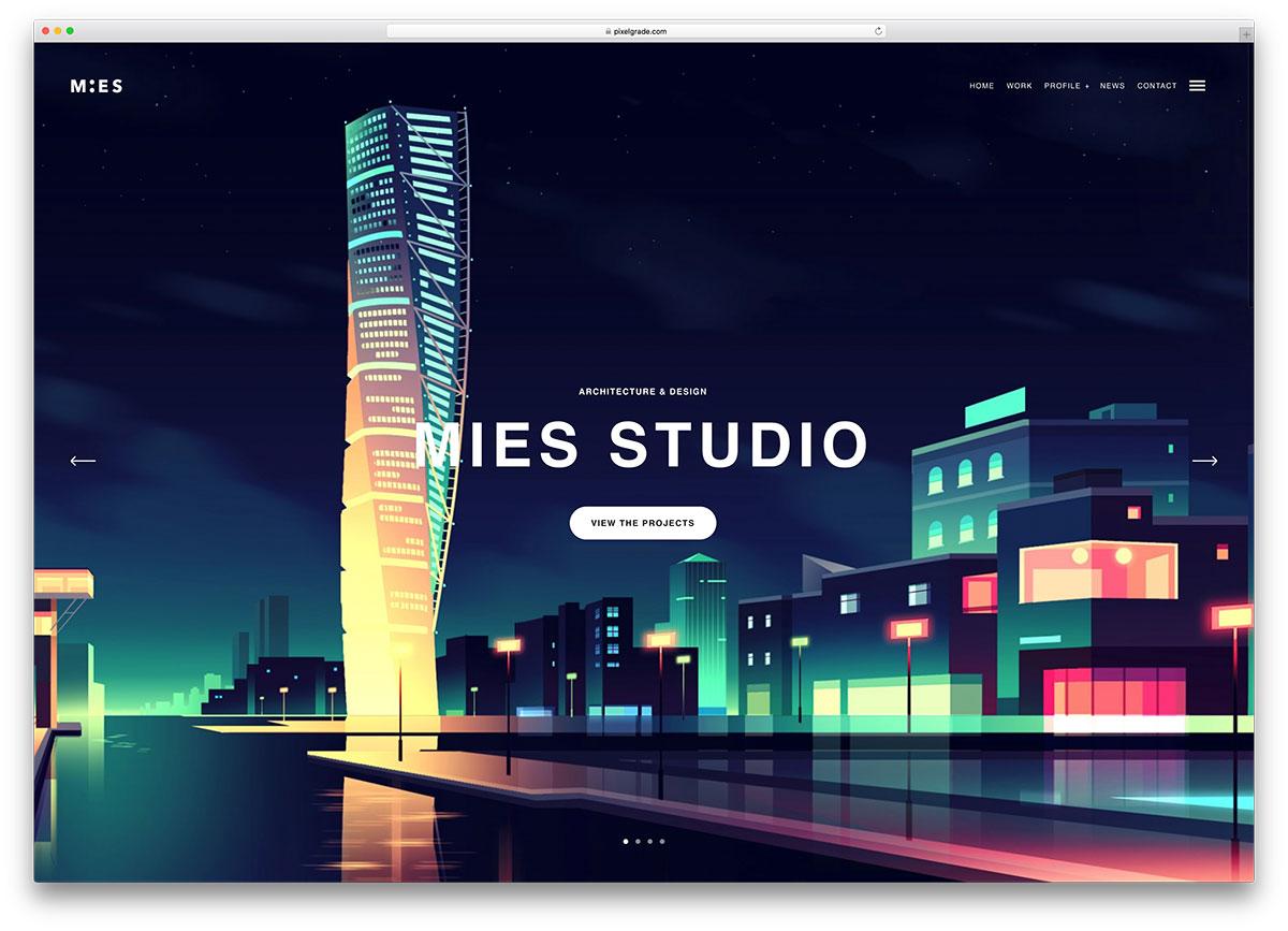 mies-creative-architect-wordpress-website-template