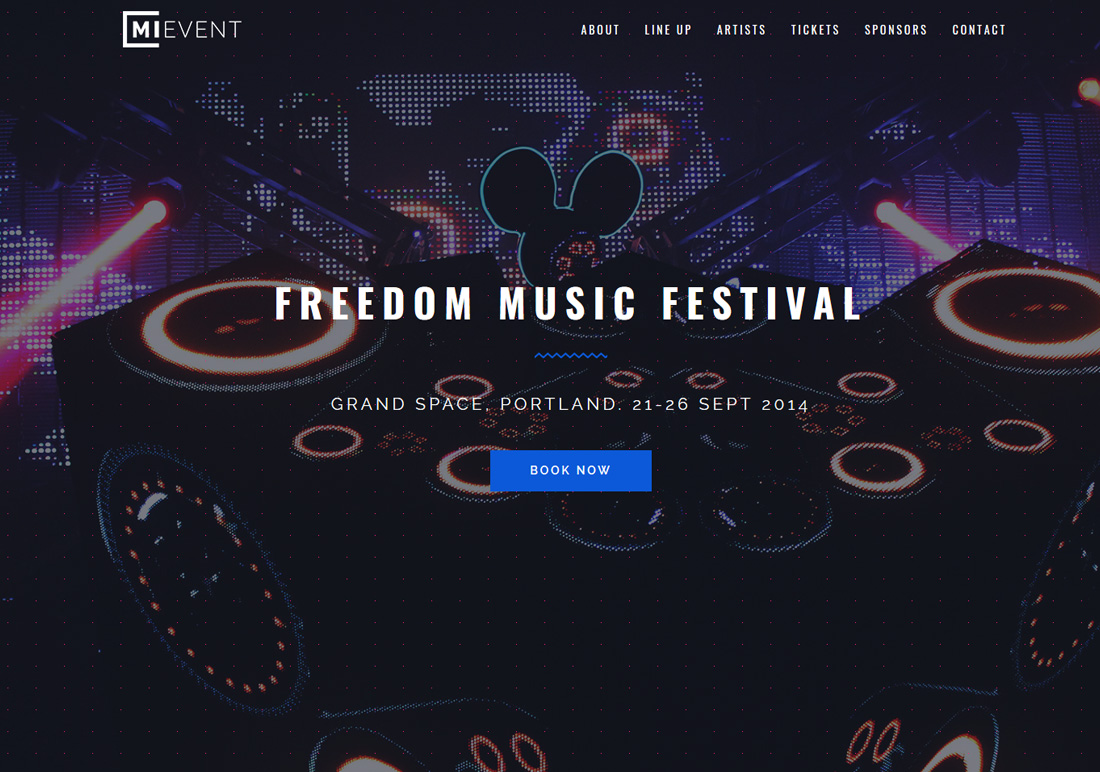 mievent-bootstrap-music-templates