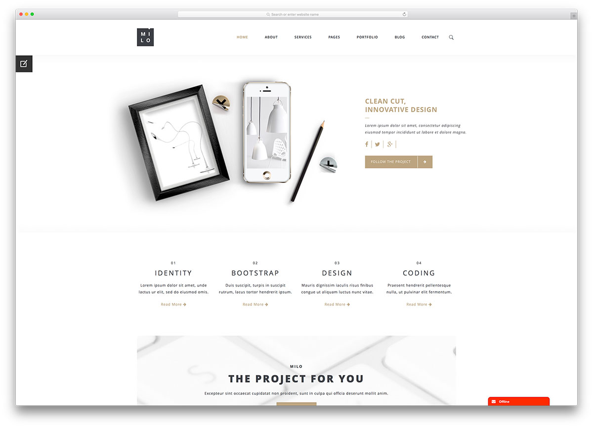 30 WordPress Themes for IT Companies and Tech Startups 2017 – Company Information Template