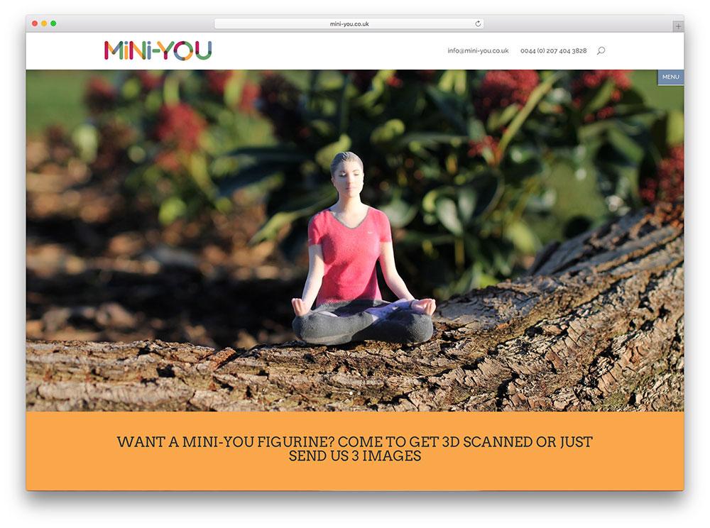 mini-you-health-website-using-divi-theme