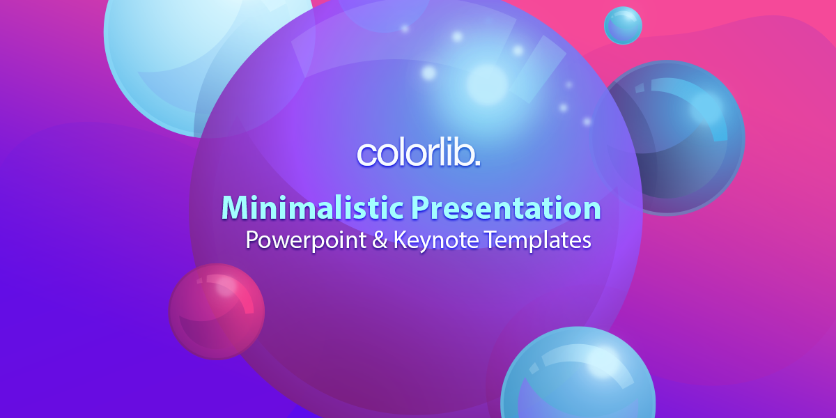 Minimal Presentation: 20 Powerpoint And Keynote Templates