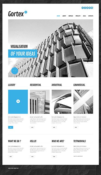 Architectural Bureau WordPress Theme