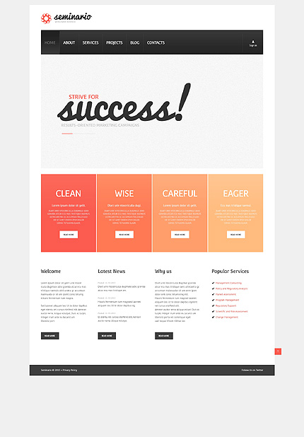 Marketing Campaigns WordPress Theme