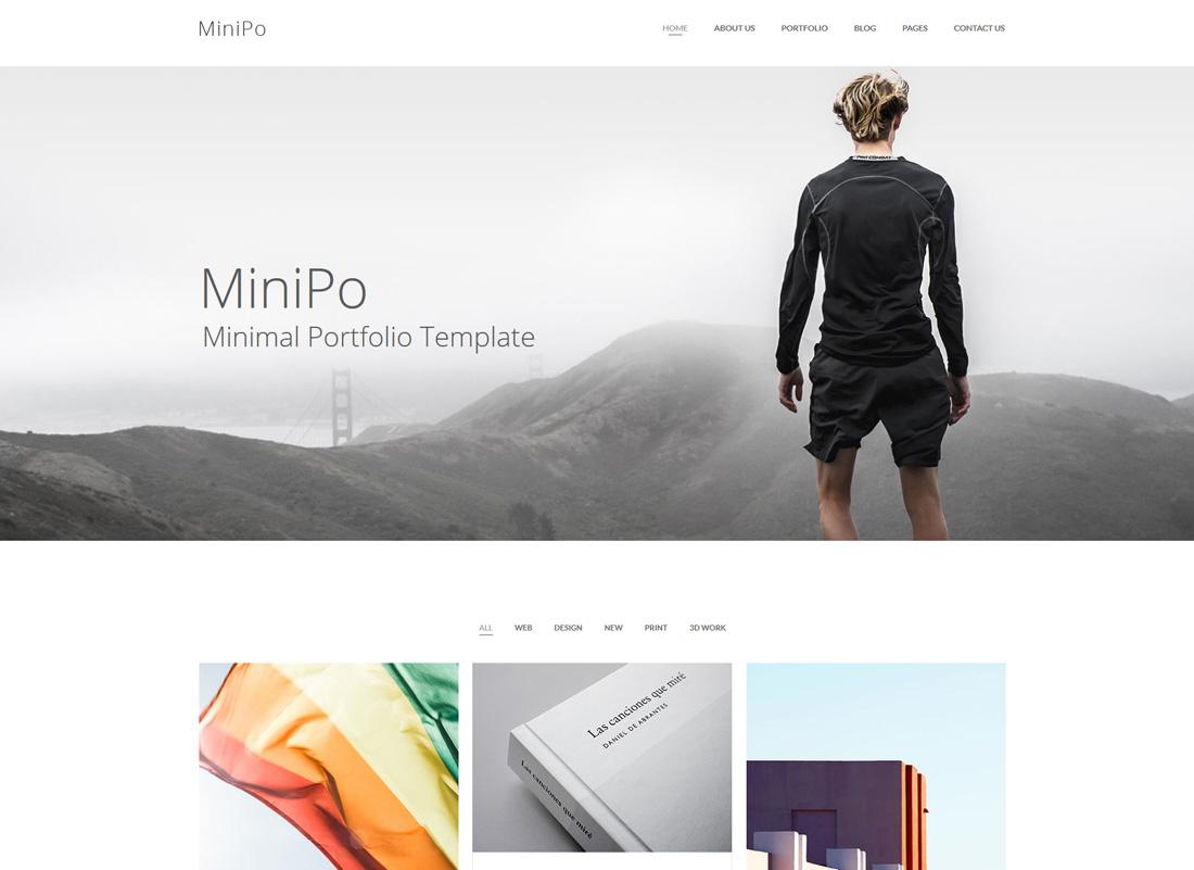 minipo-simple-bootstrap-templates