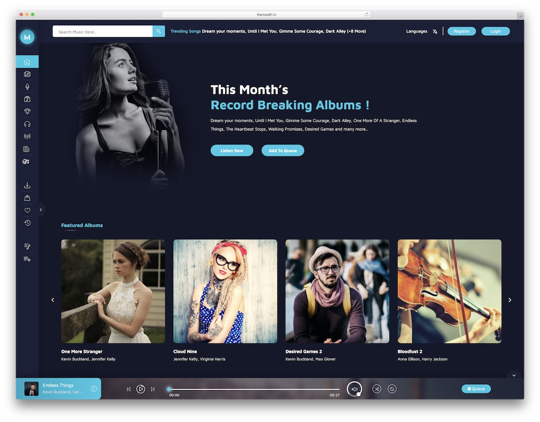 miraculous content sharing wordpress theme