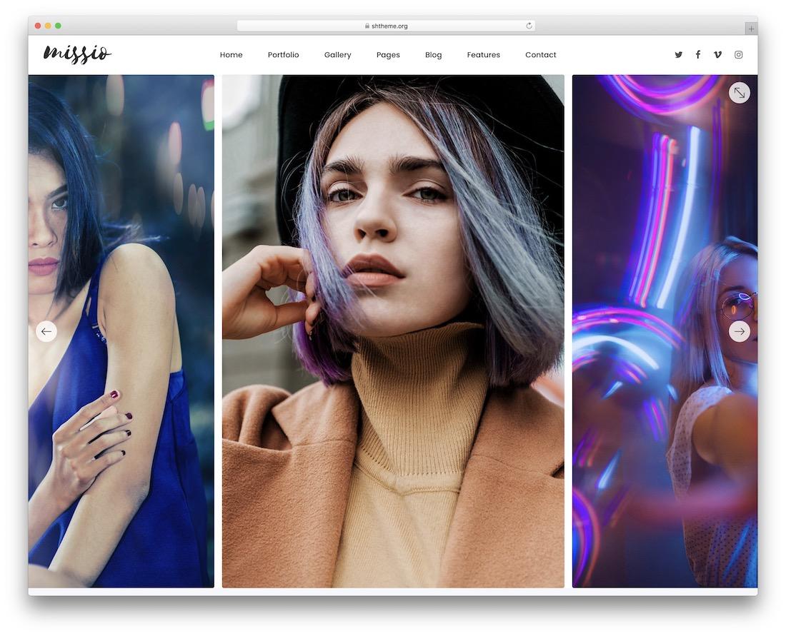 missio fashion wordpress theme