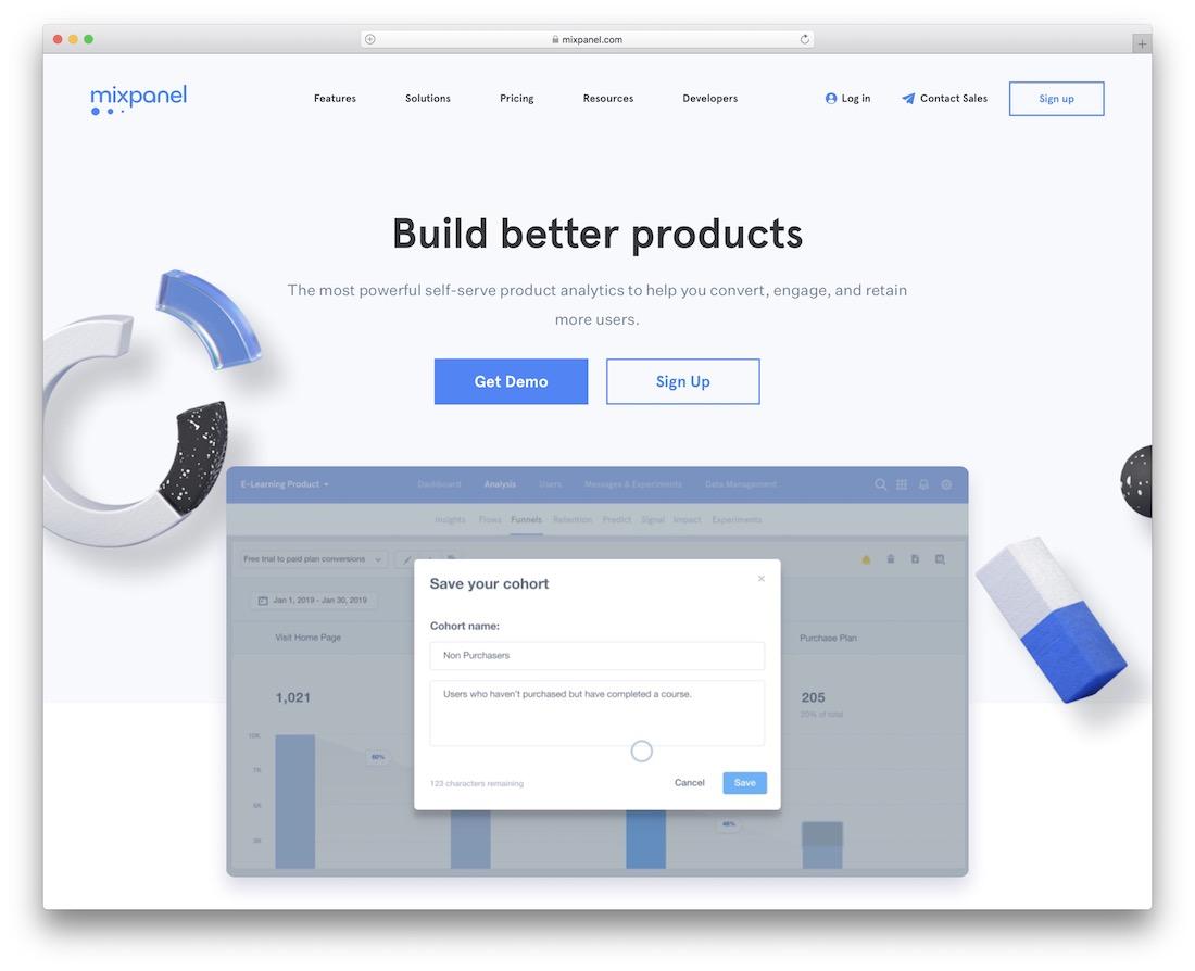 mixpanel user retention tool