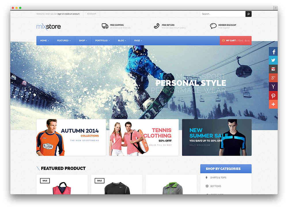 mixstore-sports-goods-store