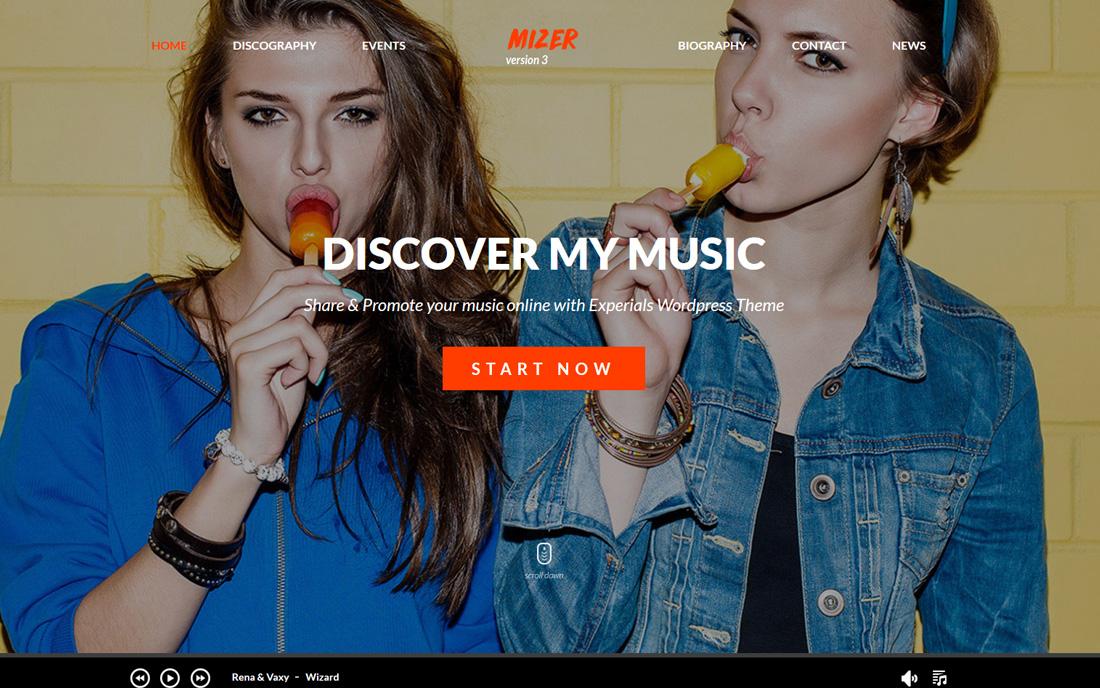 mizer-bootstrap-music-templates