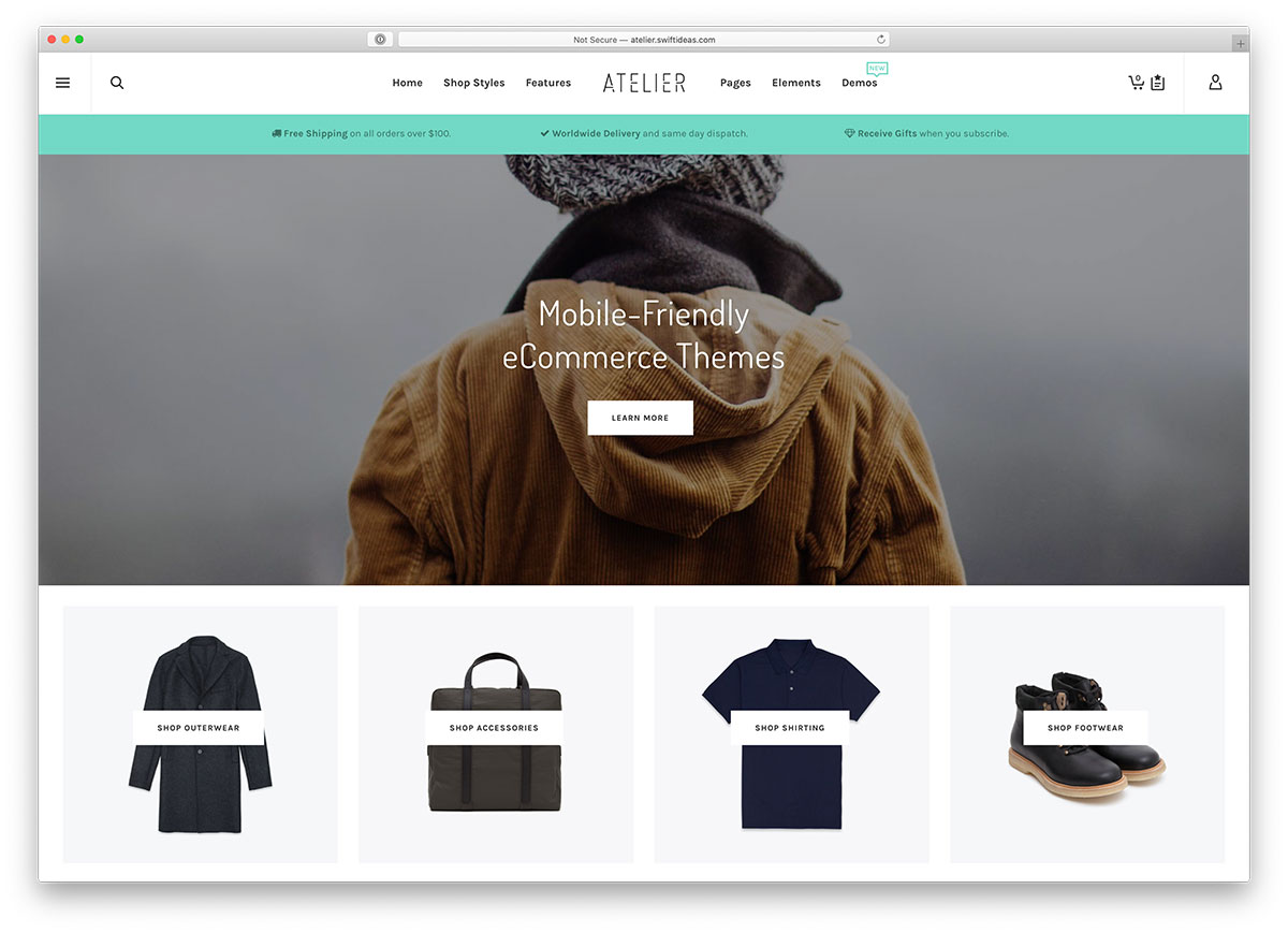 23 Mobile-Friendly ECommerce Themes For ECommerce Business Sucess 2020