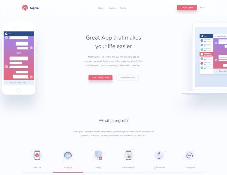 Mobile-friendly Website Templates