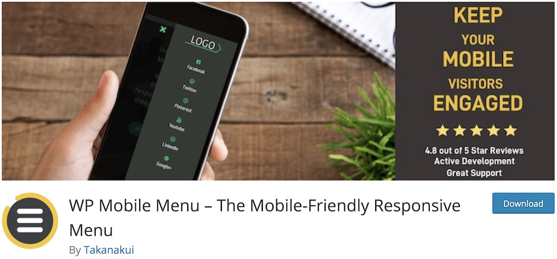 mobile menu wordpress plugin