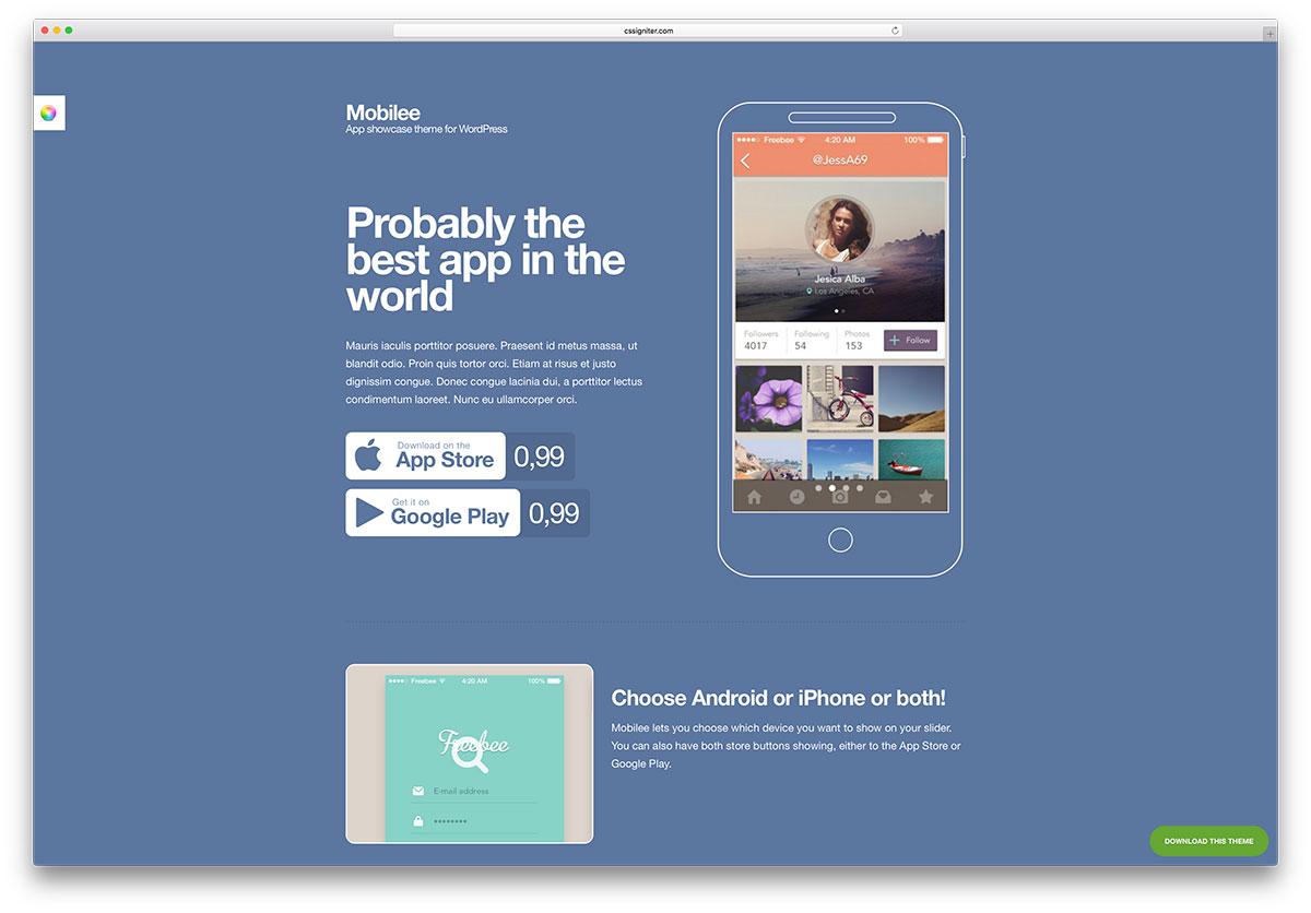 mobilee-creative-app-landing-page-theme