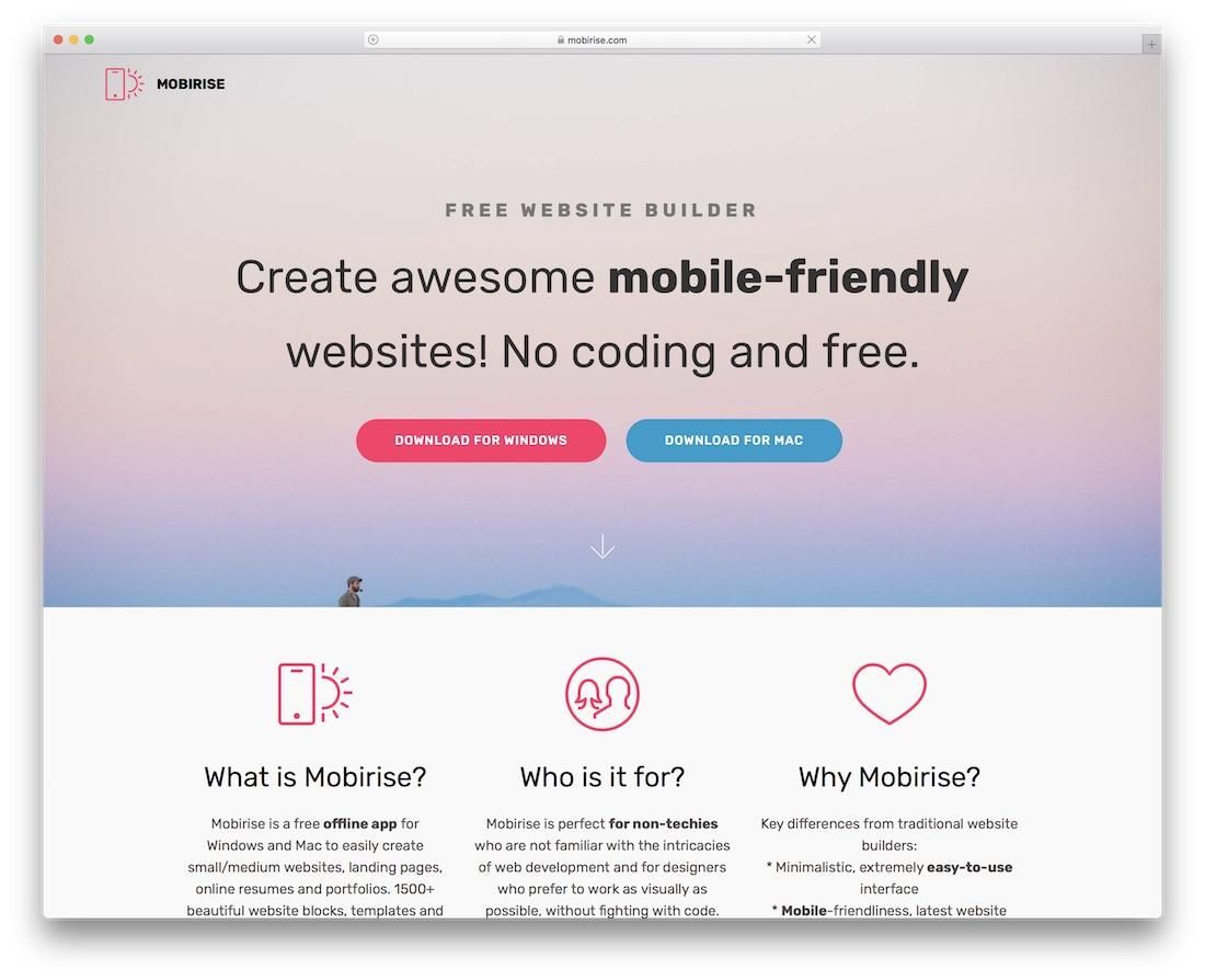 20 Best Website Builders For Mac In 2019 - Colorlib