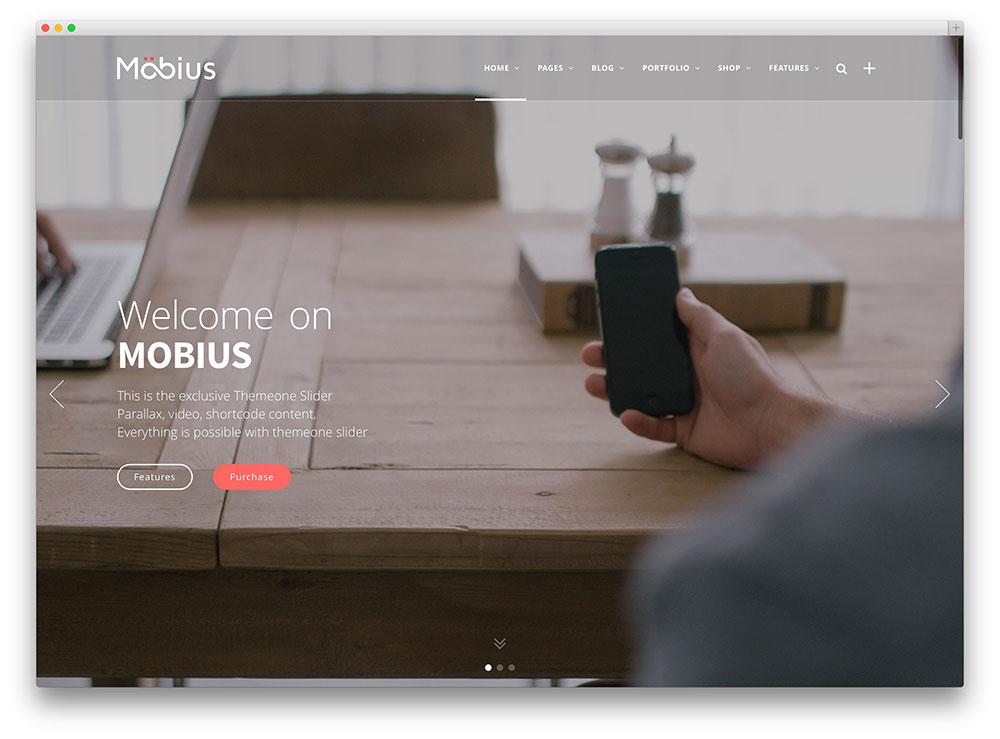mobius - creative agency theme