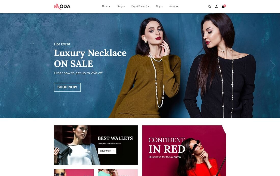 moda fashion shopify theme