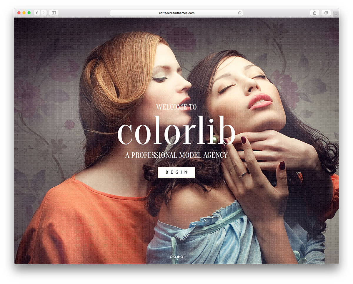 15+ best model agency wordpress themes 2017 - colorlib