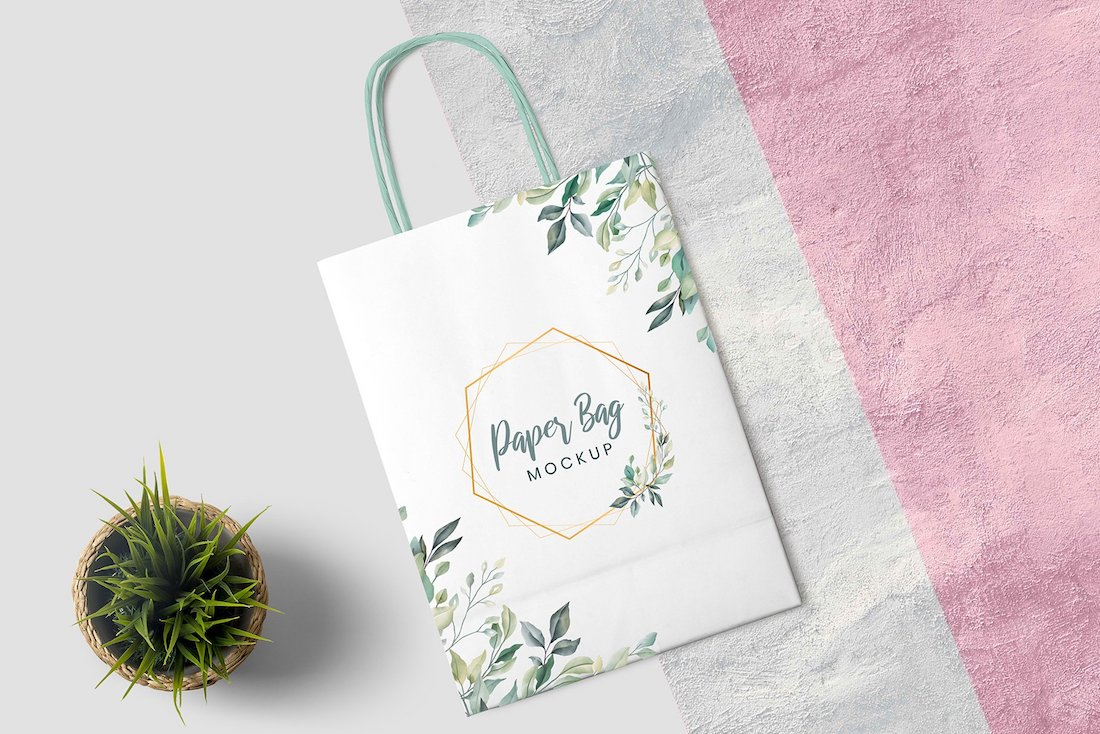 26 Best Paper Bag Mockup Templates 2020 Colorlib