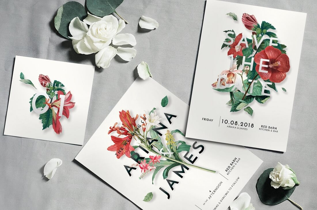 26 Gorgeous Invitation Templates For Weddings 2020 Colorlib