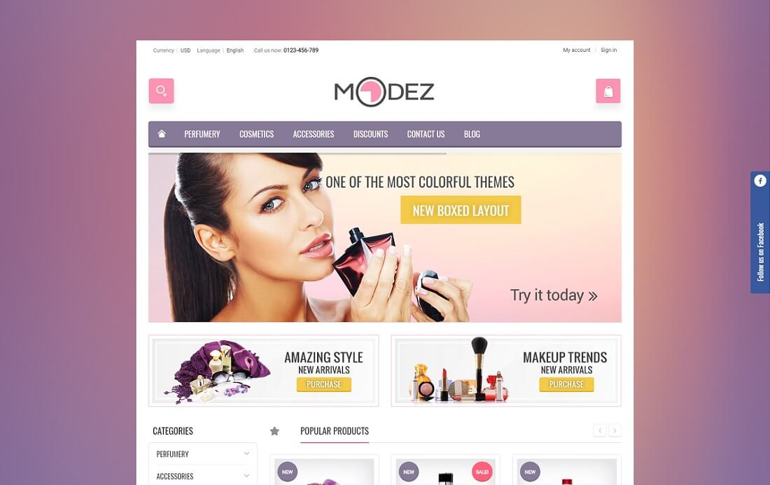 modez prestashop theme