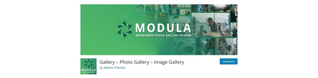 modula free wordpress gallery plugin