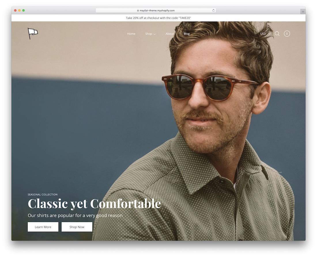 modular boutique shopify theme