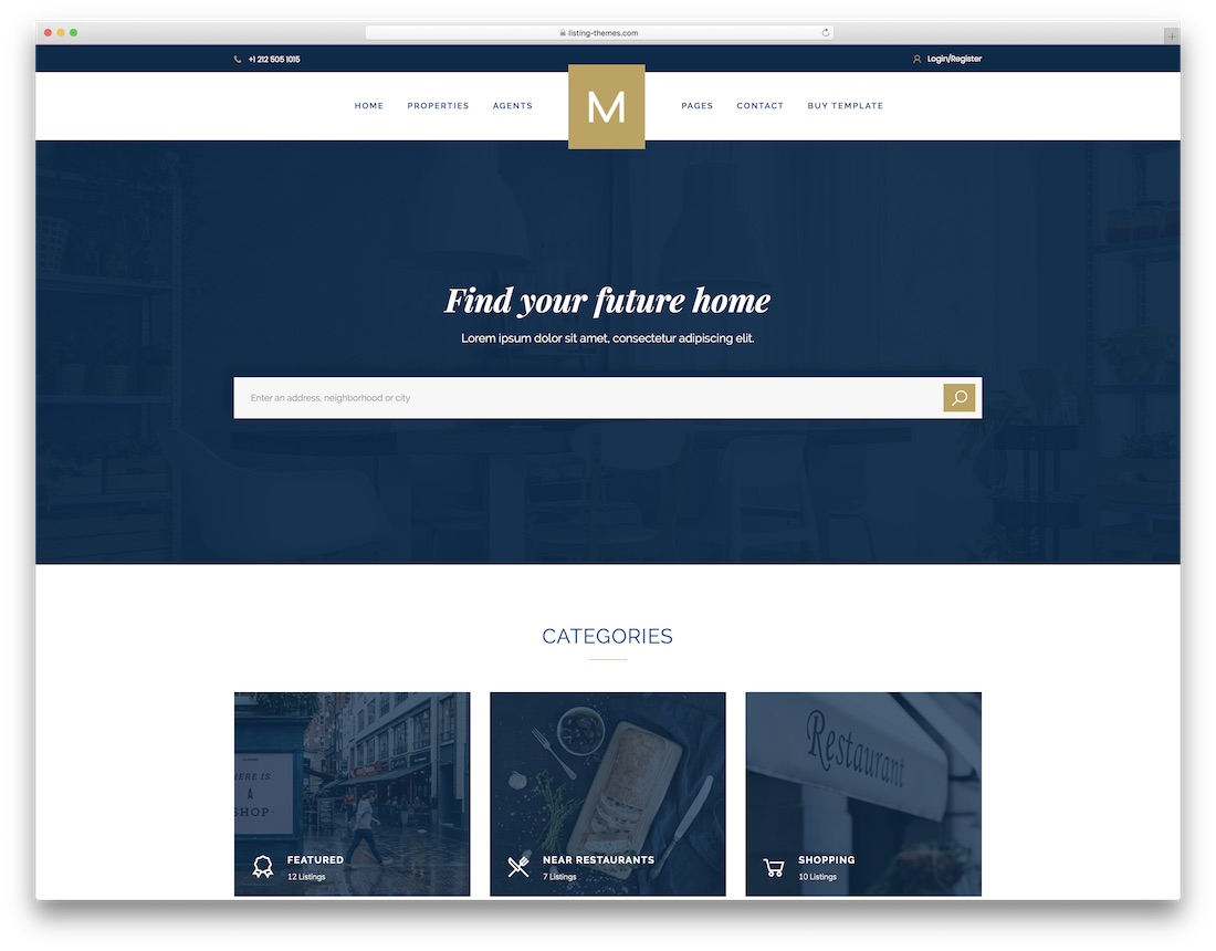moison html5 real estate website template