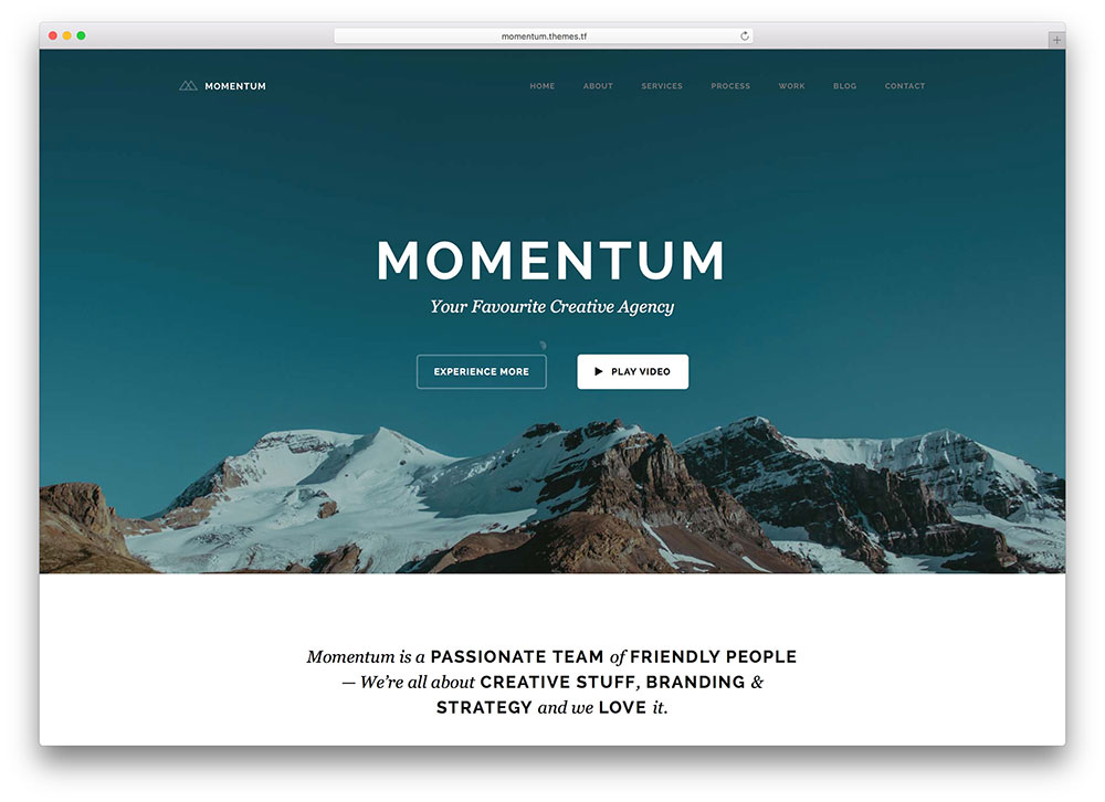 momentum-creative-agency-one-page-theme