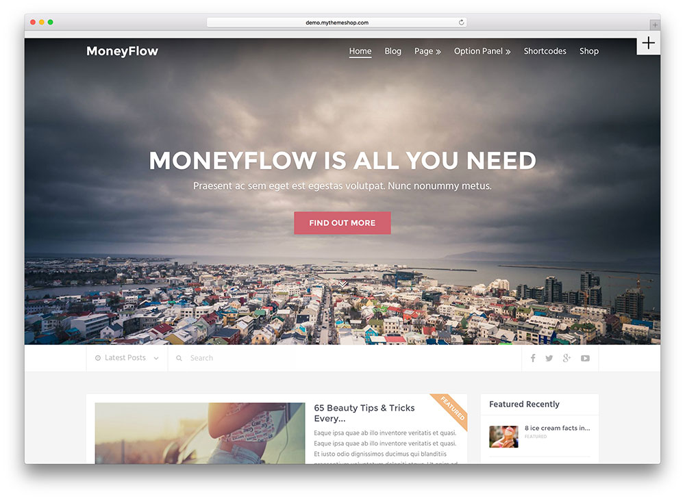 moneyflow - awesome multipurpose theme