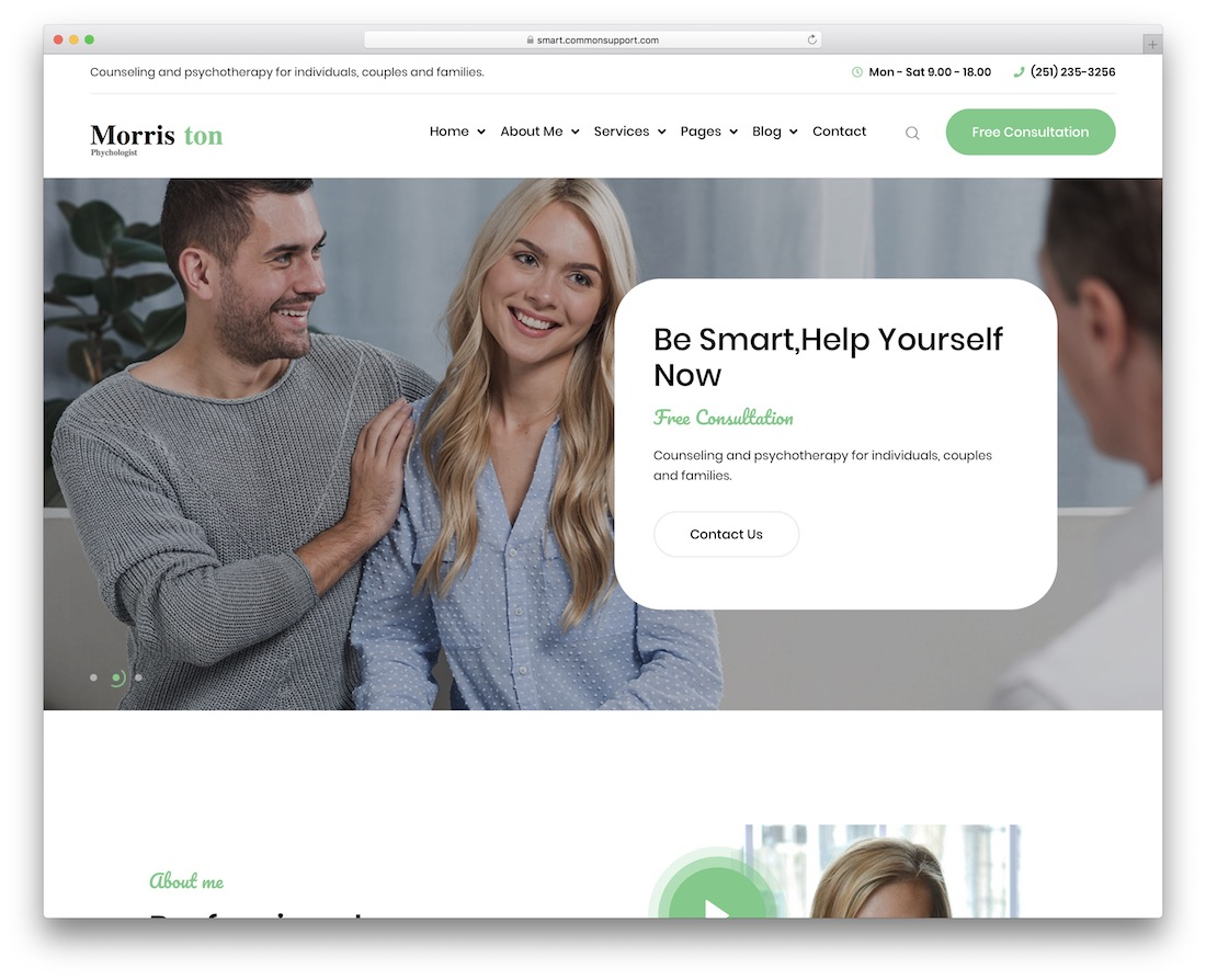 morriston health medical wordpress theme