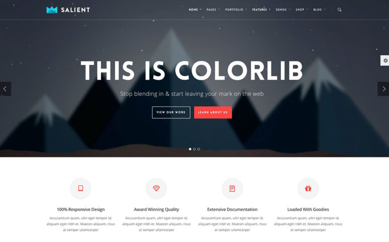 The Most Popular Premium WordPress Themes Of 2018