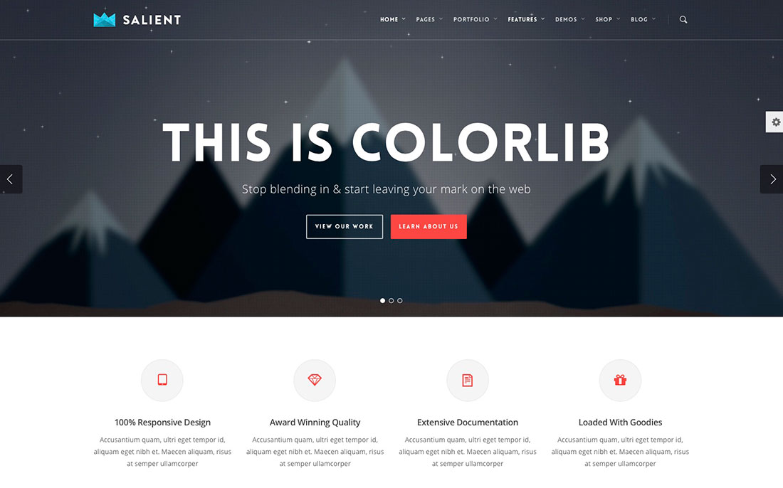 The Most Popular Premium WordPress Themes of 2018 - Colorlib