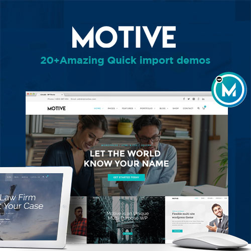 Motive Theme on Colorlib